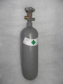 CO2 fľaša 2kg (tlaková, nápln 2.1L)
