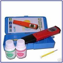 pH / °C - tester s kalibračnými roztokmi