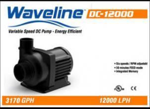 WaveLine DC12000 - 6 rýchlostné DC-čerpadlo (12000 l/h)