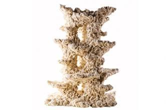 Keramický stĺp kruhový - štíhly, 10*30cm