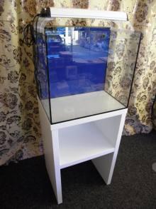 NANO morské akvárium MC144 komplet so stolíkom
