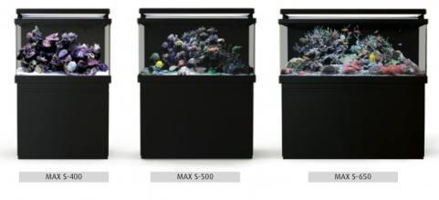 Morské akvárium RED SEA MAX  S-650 Black
