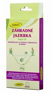 SUBIO baktérie ZÁHRADNÉ JAZIERKA – Aqua CB (OxyBreak) 50 g