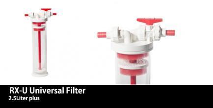 Univerzálny filter na média RX-U 2.5 ( 2,5L média ) Vertex